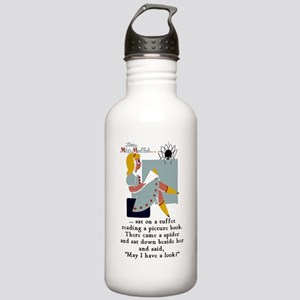 Little Miss Muffet Stainless Water Bottle 1.0L
